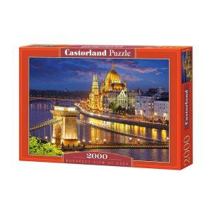 Castorland - Будапеща през нощта - 2000 части - кутия