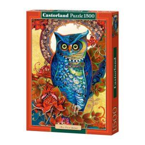 Castorland - Бухал, Давид Галчут - 1500 части - кутия