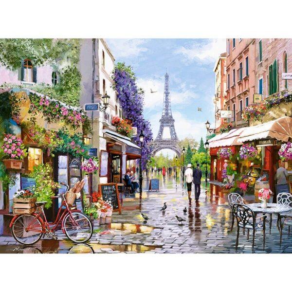 Castorland - Цветен Париж - 3000 части - картина