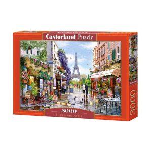 Castorland - Цветен Париж - 3000 части - кутия