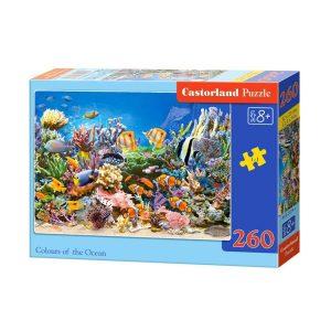 Castorland - Цветовете на океана - 260 части - кутия