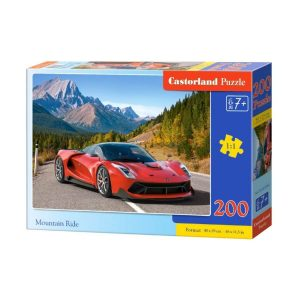 Castorland - Да шофираш в планината - 200 части - кутия
