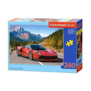 Castorland - Да шофираш в планината - 260 части - кутия