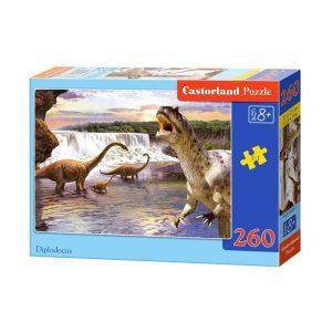 Castorland - Диплодоци - 260 части - кутия