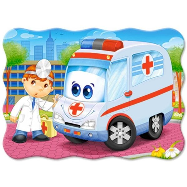 Castorland - Доктор с линейка - 30 части - картина