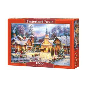 Castorland - Дълбока вяра - 1500 части - кутия