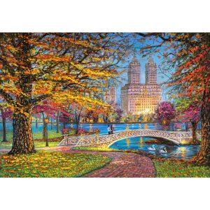 Castorland - Есенна разходка, Сентръл парк - 1500 части - картина