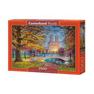 Castorland - Есенна разходка, Сентръл парк - 1500 части - кутия