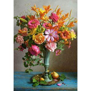Castorland - Есенни цветя - 500 части - картина