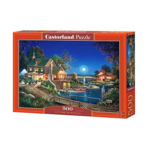 Castorland - Есенни спомени - 500 части - кутия