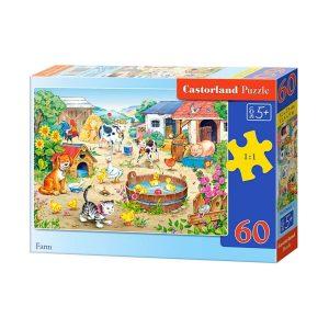 Castorland - Ферма - 60 части - кутия