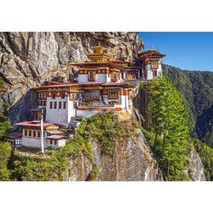 Castorland - Гледка от Паро Такцанг, Бутан - 500 части - картина