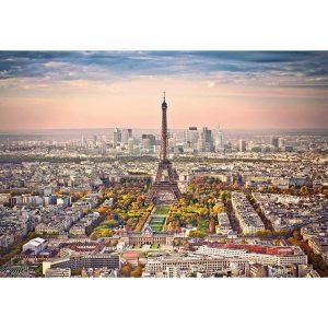 Castorland - Градски пейзаж на Париж - 1500 части - картина