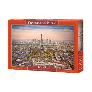 Castorland - Градски пейзаж на Париж - 1500 части - кутия