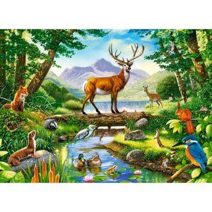 Castorland - Хармония в гората - 300 части - картина