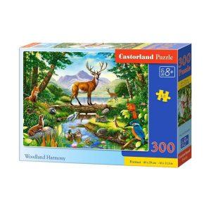 Castorland - Хармония в гората - 300 части - кутия