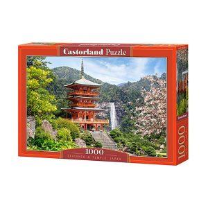 Castorland - Храмът Сейганто-жи, Япония - 1000 части - кутия