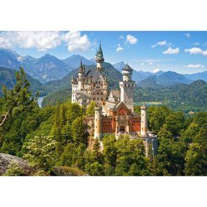 Castorland - Изглед към замъка Нойшвайнщайн, Германия - 500 части - картина