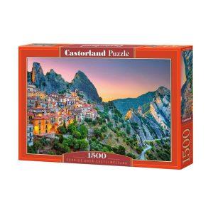 Castorland - Изгрев над Кастелмецано - 1500 части - кутия