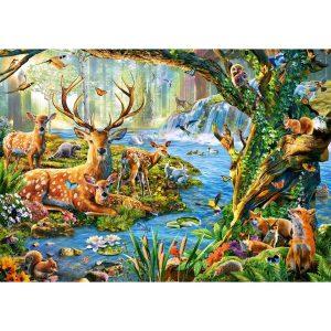 Castorland - Живот в гората - 500 части - картина