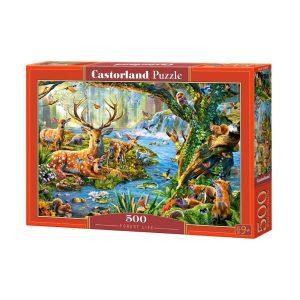 Castorland - Живот в гората - 500 части - кутия