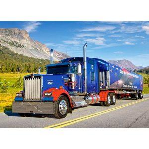Castorland - Камион - 260 части - картина