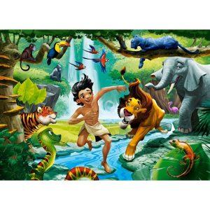 Castorland - Книга за джунглата - 120 части - картина