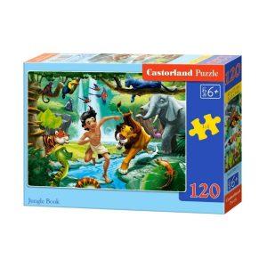 Castorland - Книга за джунглата - 120 части - кутия