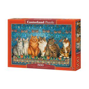 Castorland - Котешка аристокрация - 500 части - кутия
