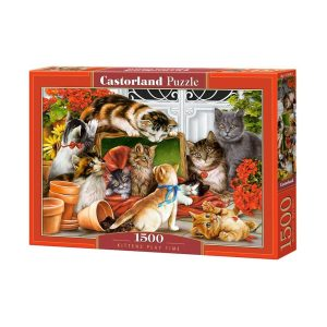 Castorland - Котешки игри - 1500 части - кутия