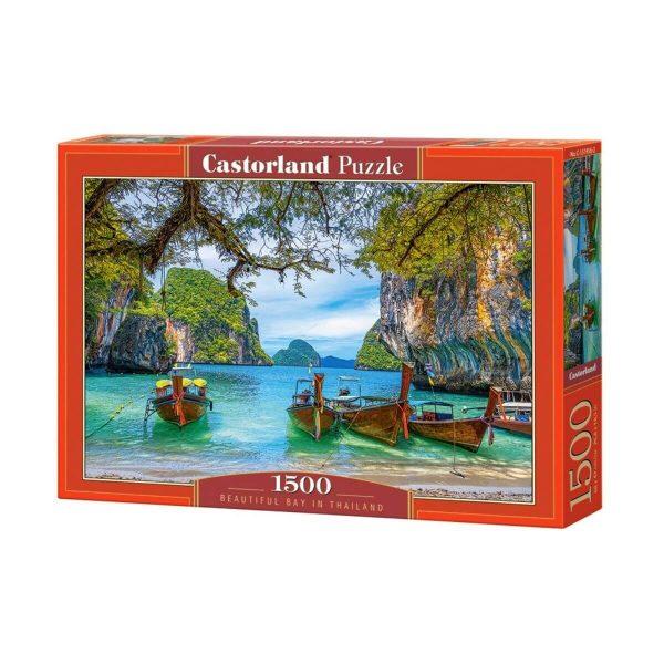Castorland - Красив залив в Тайланд - 1500 части - кутия