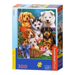 Castorland - Кученца - 300 части - кутия