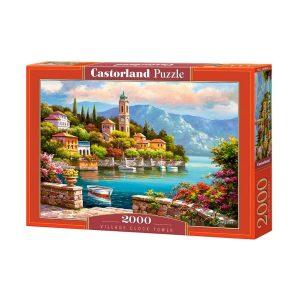 Castorland - Кулата с часовника - 2000 части - кутия