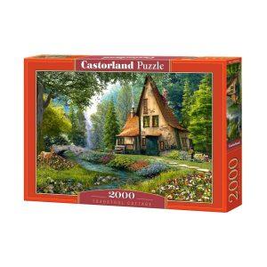 Castorland - Къща в гората - 2000 части - кутия