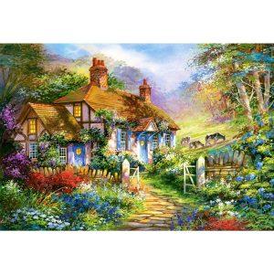 Castorland - Къща в гората - 3000 части - картина