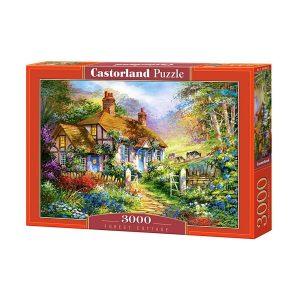 Castorland - Къща в гората - 3000 части - кутия