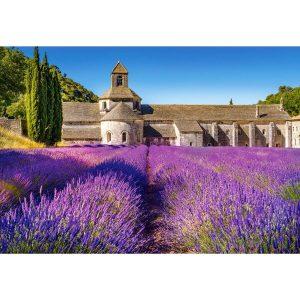 Castorland - Лавандулови полета в Прованс, Франция - 1000 части - картина