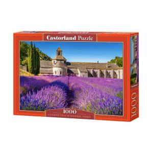 Castorland - Лавандулови полета в Прованс, Франция - 1000 части - кутия