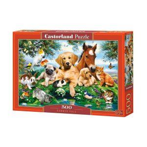 Castorland - Летни приятели - 500 части - кутия