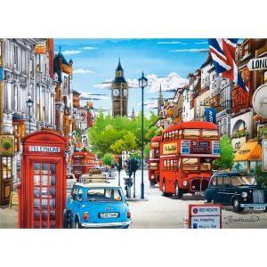 Castorland - Лондон - 1500 части - картина