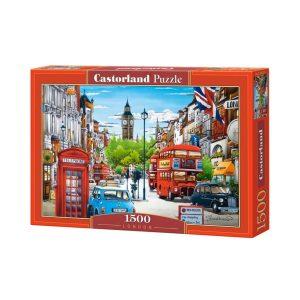 Castorland - Лондон - 1500 части - кутия