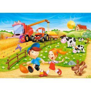 Castorland - Лято край фермата - 60 части - картина