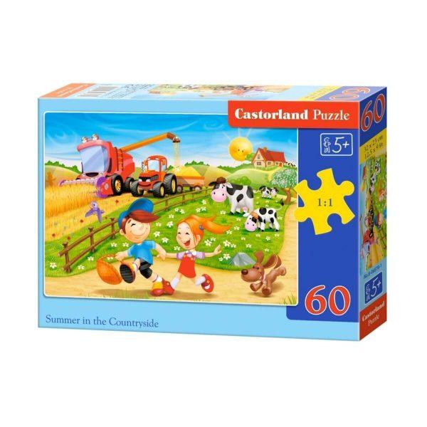 Castorland - Лято край фермата - 60 части - кутия