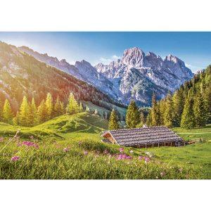 Castorland - Лято в Алпите - 500 части - картина