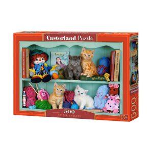Castorland - Любимо място на котетата - 500 части - кутия