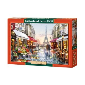 Castorland - Магазин за цветя - 1500 части - кутия