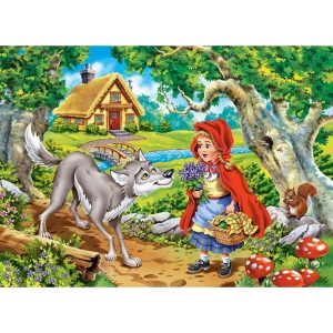 Castorland - Малката Червена шапчица - 70 части - картина