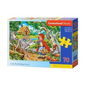 Castorland - Малката Червена шапчица - 70 части - кутия