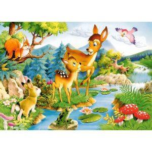 Castorland - Малки еленчета - 120 части - картина