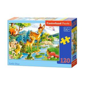 Castorland - Малки еленчета - 120 части - кутия